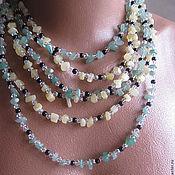 Украшения handmade. Livemaster - original item Long beads
