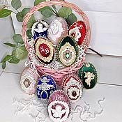 Сувениры и подарки handmade. Livemaster - original item Eggs: Easter eggs. Handmade.