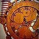 Часы для дома ручной работы. Ярмарка Мастеров - ручная работа. Купить Часы путешественника. Handmade. Коричневый, подарок мужчине