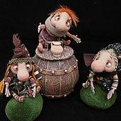 Куклы и игрушки ручной работы. Ярмарка Мастеров - ручная работа Барабашки. Handmade.