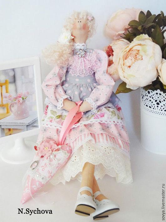Куклы Тильды ручной работы. Ярмарка Мастеров - ручная работа. Купить Тильда кукла интерьерная текстильная в стиле Шебби шик. Handmade.