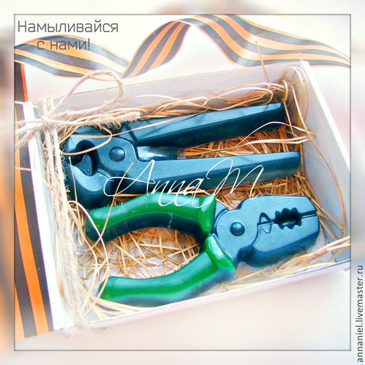 """Мыло ручной работы. Ярмарка Мастеров - ручная работа. Купить Мыльный набор """"Инструменты"""". Handmade. Мыло ручной работы"""