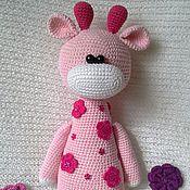 Куклы и игрушки ручной работы. Ярмарка Мастеров - ручная работа Весенний жирафик.. Handmade.