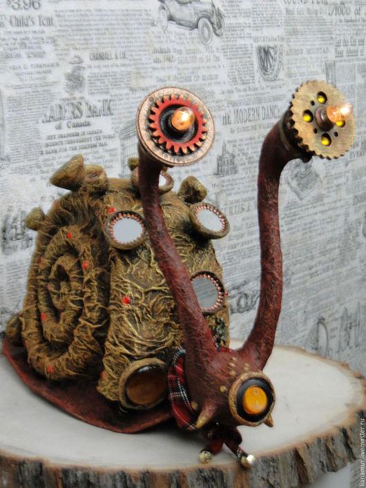 Сказочные персонажи ручной работы. Ярмарка Мастеров - ручная работа. Купить Улитка иноземная. Handmade. Улитка, персональный подарок