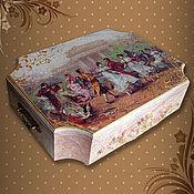 Для дома и интерьера handmade. Livemaster - original item Box for needlework