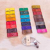 Сувениры и подарки handmade. Livemaster - original item Organizer for headphones small. Handmade.
