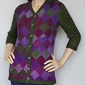 Одежда handmade. Livemaster - original item Jacket patchwork
