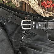 Аксессуары handmade. Livemaster - original item Straps: leather belt. Handmade.