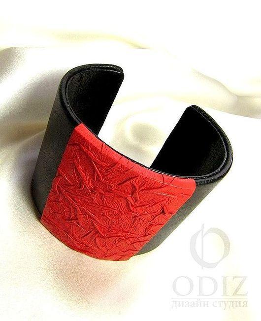 """Браслет из кожи. Дизайн-студия """"ODIZ"""". Handmade браслеты"""
