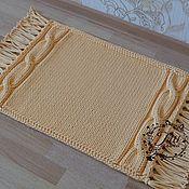 Для дома и интерьера handmade. Livemaster - original item Knitted rug