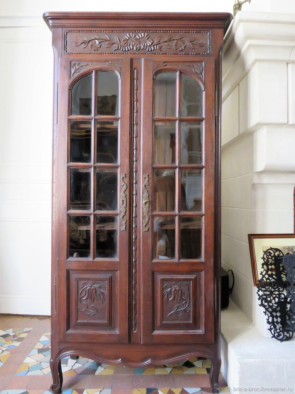 Винтаж: Старинный дубовый шкаф (Франция), Мебель винтажная, Москва,  Фото №1