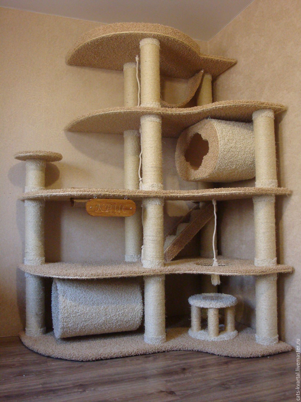 Игровой кошачий комплекс своими руками