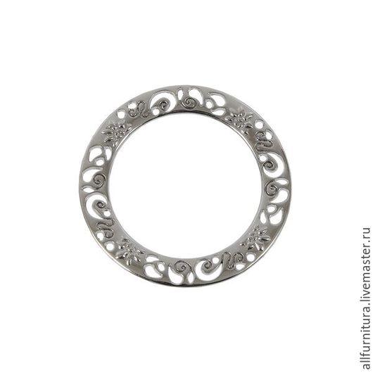 Шитье ручной работы. Ярмарка Мастеров - ручная работа. Купить Кольцо литое 125 (32 мм) никель. Handmade.