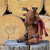 Куклы и игрушки ручной работы. Ярмарка Мастеров - ручная работа Рудольф:)))). Handmade.