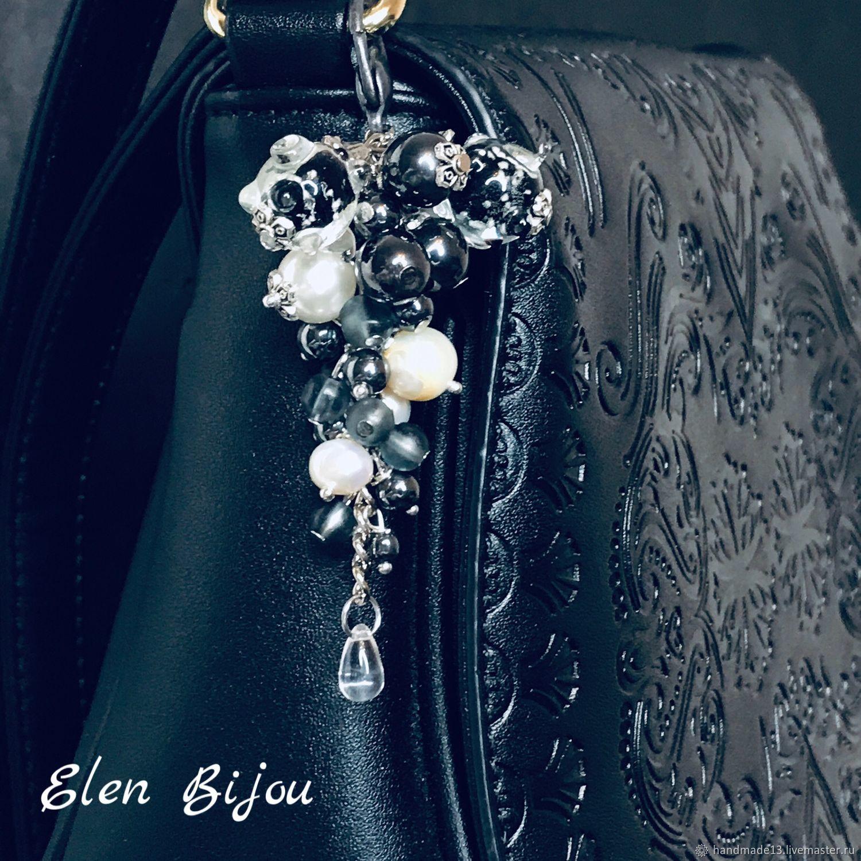 Брелок подвеска на сумку брелок на сумку украшение на сумку
