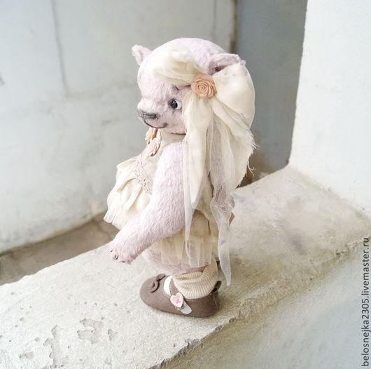 Мишки Тедди ручной работы. Ярмарка Мастеров - ручная работа. Купить Майя. Handmade. Розовый, коллекционные медведи
