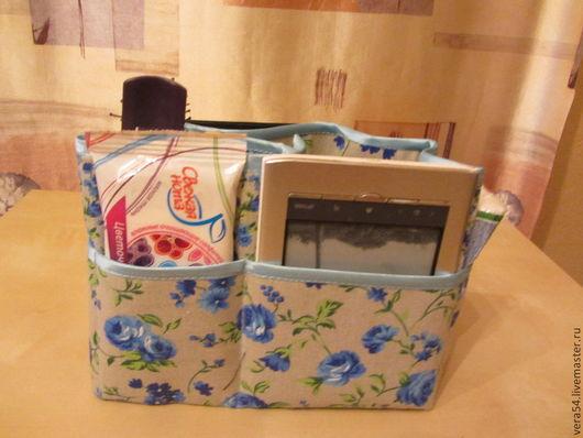 Органайзеры для сумок ручной работы. Ярмарка Мастеров - ручная работа. Купить Органайзер для сумки. Handmade. Цветочный, тинтамар, из хлопка