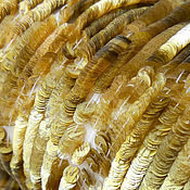 Пайетки ручной работы. Ярмарка Мастеров - ручная работа Французские пайетки 4 мм Bohemia Gold. Handmade.