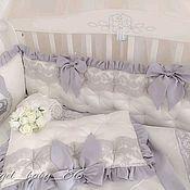 Текстиль ручной работы. Ярмарка Мастеров - ручная работа Комплект в кроватку. Handmade.