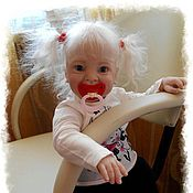 Куклы и игрушки ручной работы. Ярмарка Мастеров - ручная работа Кукла реборн Samantha ( Саманта), by Donna Rubert. Handmade.