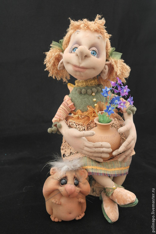 Little fairy, Stuffed Toys, Moscow,  Фото №1