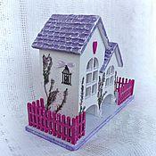Чайный домик Цветущий вереск Сиреневый