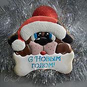 Подарки к праздникам ручной работы. Ярмарка Мастеров - ручная работа Пряничный подарок к Новому году. Handmade.