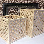 Материалы для творчества handmade. Livemaster - original item Billet Box lattice. Handmade.