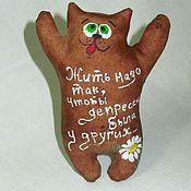 Куклы и игрушки handmade. Livemaster - original item Coffee seals 2 .brown .. Handmade.