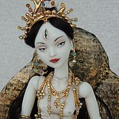 Куклы и игрушки handmade. Livemaster - original item porcelain. Articulated doll White Tara. Handmade.