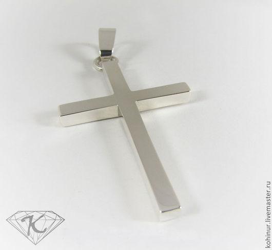 Кулоны, подвески ручной работы. Ярмарка Мастеров - ручная работа. Купить Крест серебряный. Handmade. Серебряный, крест, подарок, золото