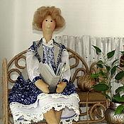 Куклы и игрушки ручной работы. Ярмарка Мастеров - ручная работа Тильда Эльза Карловна. Handmade.