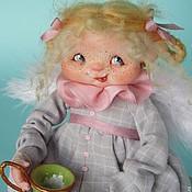 """Куклы и игрушки ручной работы. Ярмарка Мастеров - ручная работа """"Бубочка"""" или """"День молочных усов""""))). Handmade."""