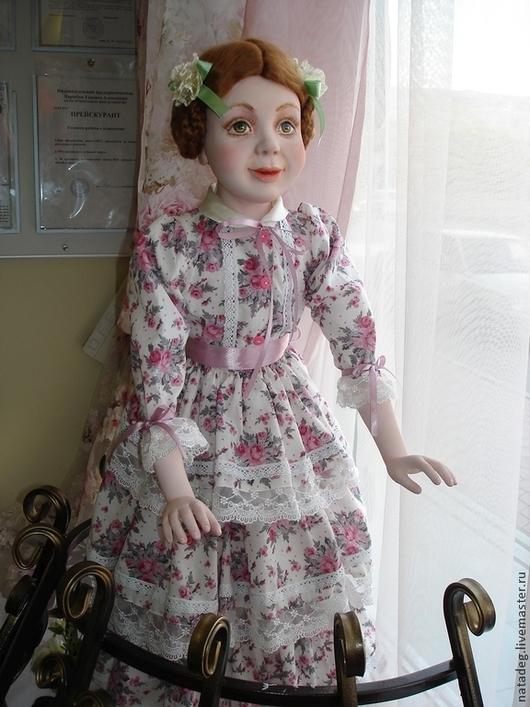 Коллекционные куклы ручной работы. Ярмарка Мастеров - ручная работа. Купить девочка. Handmade. Кукла интерьерная, девочка, подарок