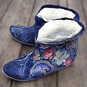 """Обувь ручной работы. Ярмарка Мастеров - ручная работа Чуни """"Купалье"""". Handmade."""