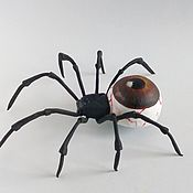 Мягкие игрушки ручной работы. Ярмарка Мастеров - ручная работа Игрушки: Паук - Паучий глаз. Handmade.