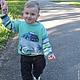 Одежда для мальчиков, ручной работы. Ярмарка Мастеров - ручная работа. Купить джемпер пуловер По дорогам Италии вязаный детский для мальчика. Handmade.