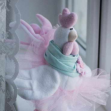 Куклы и игрушки ручной работы. Ярмарка Мастеров - ручная работа Курочка текстильная.. Handmade.