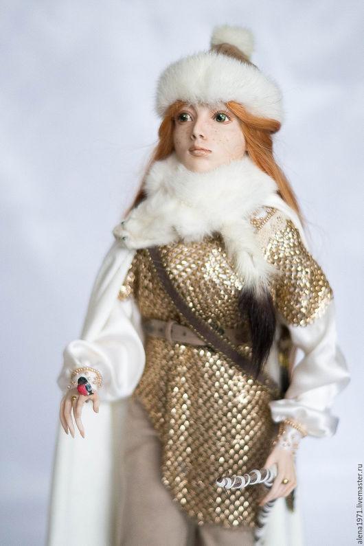 Коллекционные куклы ручной работы. Ярмарка Мастеров - ручная работа. Купить Нежный северный ветер. Handmade. Золотой, скандинавия