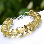 Украшения handmade. Livemaster - original item Bracelet made of natural Topaz. Handmade.