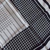 Аксессуары винтажные ручной работы. Ярмарка Мастеров - ручная работа НОВЫЙ платок. Шелк 100. Handmade.