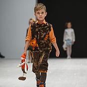 """Работы для детей, ручной работы. Ярмарка Мастеров - ручная работа Войлочный комплект для мальчика """"Вперед за озорной собачкой"""". Handmade."""