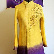 "Одежда ручной работы. Ярмарка Мастеров - ручная работа Пальто ""Танец Мандала"". Handmade."
