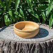 Посуда handmade. Livemaster - original item Textured bowl 14,5#15. Handmade.