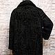 Верхняя одежда ручной работы. Пальто из каракуля swakara. Elena. Интернет-магазин Ярмарка Мастеров. Однотонный, swakara, купить шубу