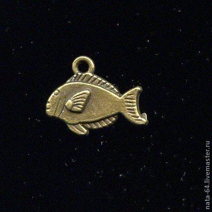 Для украшений ручной работы. Ярмарка Мастеров - ручная работа. Купить Коралловая рыбка. Handmade. Украшения ручной работы