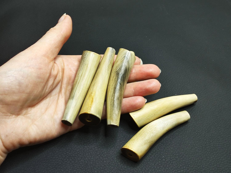 Beads Deer Horn horn medium size 70h11-18mm, Beads1, Bryansk,  Фото №1