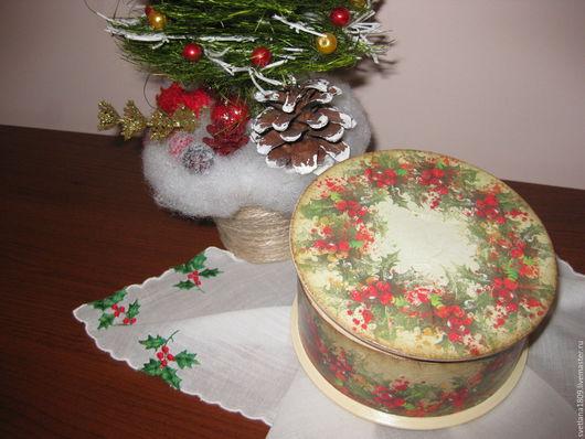 """Шкатулки ручной работы. Ярмарка Мастеров - ручная работа. Купить Шкатулка  """"Новогодняя карусель"""". Handmade. Шкатулка, подарок на любой случай"""