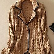Одежда handmade. Livemaster - original item Cardigan cashmere extra class. Handmade.