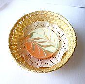Косметика ручной работы. Ярмарка Мастеров - ручная работа Мыло  натуральное апельсиновое. Handmade.